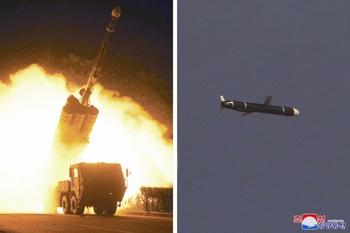 Pionyang prueba sus nuevos misiles crucero de largo alcance
