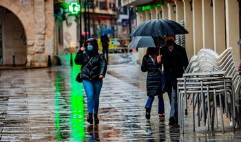 Lluvia, viento, niebla y calor con la borrasca Justine