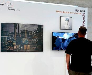 Exposición en las Cortes de obras becadas por la Fundación de Castilla y León.