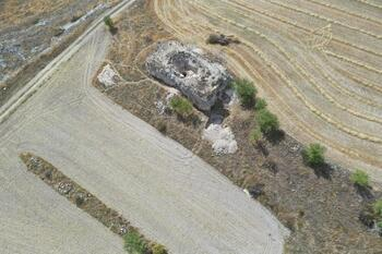 El torreón de Adrada, punto clave en el valle del Riaza