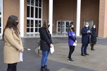 El campus de Albacete conmemora el 8-M