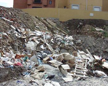 Se pondrá un impuesto para los que no reciclen los escombros