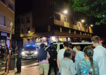Detenido en la segunda noche de incidentes en el Seminario