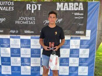 Jorge Pérez es la gran esperanza del tenis albacetense