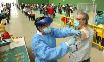CyL no recibirá esta semana el habitual envío de vacunas