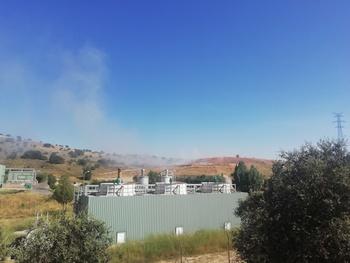 Incendio en el CTR de Golmayo
