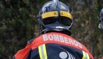 Un bombero del CEIS en una imagen de archivo.