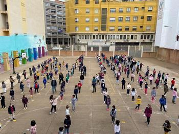 El Colegio Cristóbal Valera conmemora el 8-M
