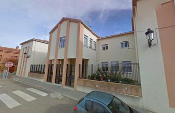 Imagen exterior de la residencia de mayores del municipio vallisoletano de Villavicencio.