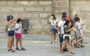 Toledo despega con 63.248 pernoctaciones, el doble de 2020