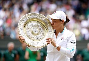 Barty conquista Wimbledon, su segundo 'Grand Slam'