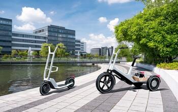 BMW presenta dos nuevos prototipos de movilidad individual