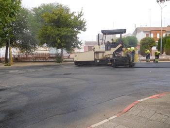 Reasfaltan 20 calles de Villarrobledo con el POS