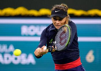 Paula Badosa, en cuartos de final de Indian Wells