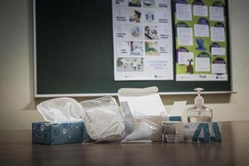 La semana comienza con dos aulas confinadas en Albacete