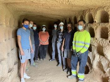 Nalda potencia el conjunto rupestre de Los Palomares