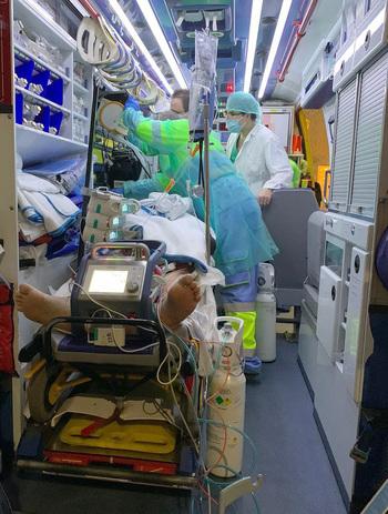 Un equipo móvil de cardiólogos para afrontar un código shock