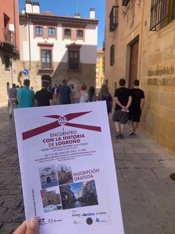 El alcalde de Logroño, en el Encuentro con la Historia