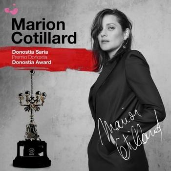 Marion Cotillard, Premio Donostia 2021