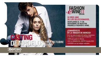 El Centro Comercial Berceo busca modelos para Fashion&Wine