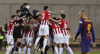 El Athletic logra su tercera Supercopa de España