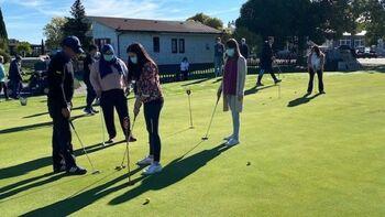 Acercar el golf a usuarios de la UME de Salud Mental