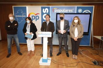 El PP ve 'un golpe brutal' el Presupuesto para Burgos