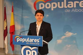Francisco Navarro, portavoz del PP de Albacete.