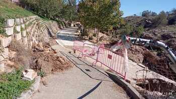 Usuarios del paseo de Don Vicente claman por una solución
