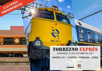 El Torrezno Exprés unirá Soria, Madrid y Zaragoza por un día