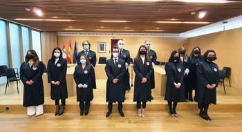 7 nuevos jueces juran sus cargos y toman posesión en el TSJ