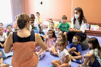 La Reina Letizia inaugura el curso escolar en Zaragoza
