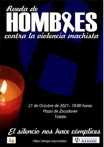 Rueda de hombres contra la violencia, el jueves en Zocodover