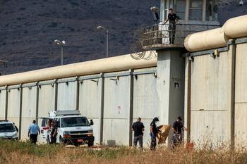 Tensión en Israel tras la fuga de seis presos palestinos