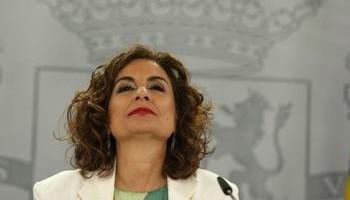 Montero se encargó de presentar el documento enviado a la UE.