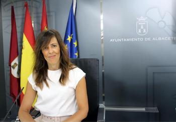 María Gil, concejal del PP en el Ayuntamiento de Albacete.