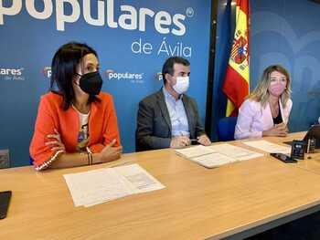 Los PGE son 'un engaño y una estafa' para Ávila, dice el PP
