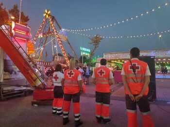 Cruz Roja atendió a once personas durante las fiestas