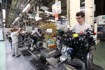 Factoría de Motores de Renault.