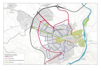 Una rotonda en la calle Almazán dará acceso a la A-15