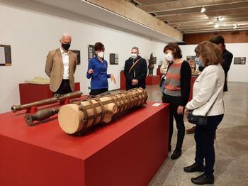 Visita a la exposición.