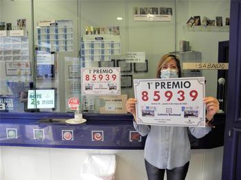 Guadalajara cuenta con un agraciado en la Lotería Nacional