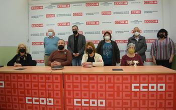 Navalón seguirá al frente de los pensionistas de CCOO