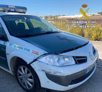 Cazados tras robar en Mora y embestir a la Guardia Civil