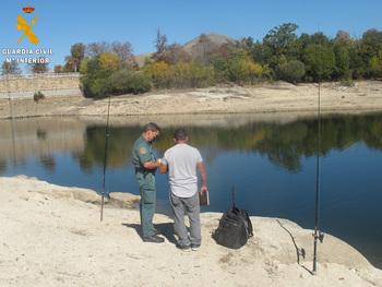Pillados pescando en una zona vedada del Parque Nacional