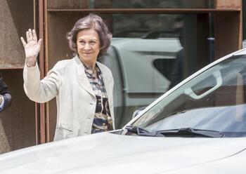 La Reina Sofía visitará el Banco de Alimentos de Burgos