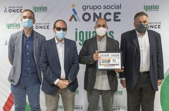 La ONCE lanza el cupón dedicado a la lucha contra la pobreza