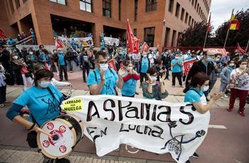 Comités de empresa de Aspanias se movilizan el 9 de marzo