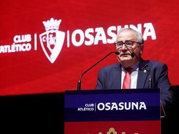 Luis Sabalza anuncia que se presentará a la reelección