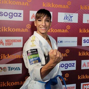 Sandra Sánchez logra con autoridad el oro en Moscú